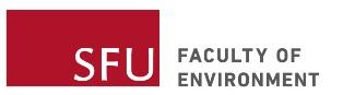 SFU Faculty of Environment